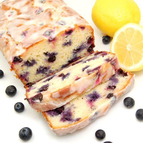 50+ Best Recipes for Fresh Blueberries - Lemon Blueberry Yogurt Loaf