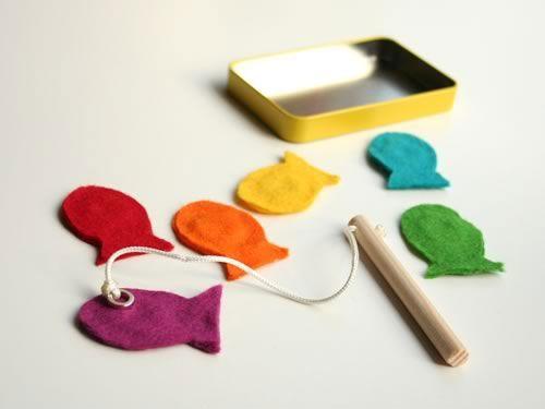 40+ DIY Travel Activities - Mini Magnet Fishing Game