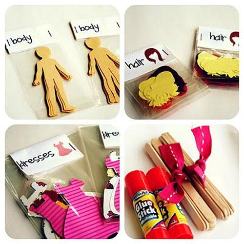 40+ DIY Travel Activities - Paper Doll Kit