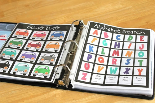 40+ DIY Travel Activities - Road Trip Binder