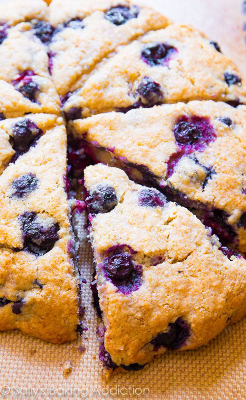 50+ Best Recipes for Fresh Blueberries - The Best Blueberry Scones