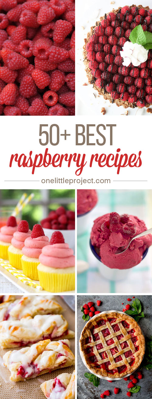 50 Best Raspberry Recipes