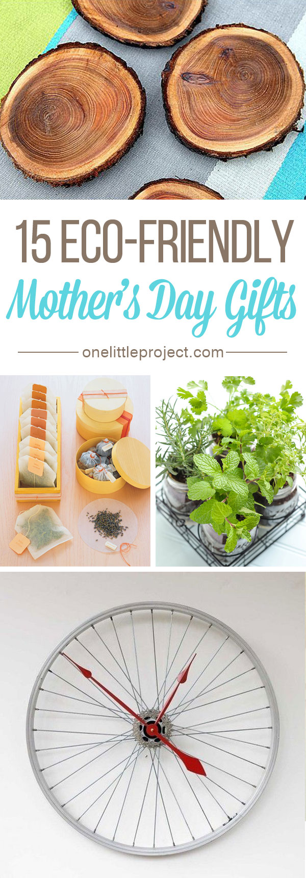15 Eco-Friendly Mother's Day Gifts - There are lots of beautiful options that are kind to mother nature!