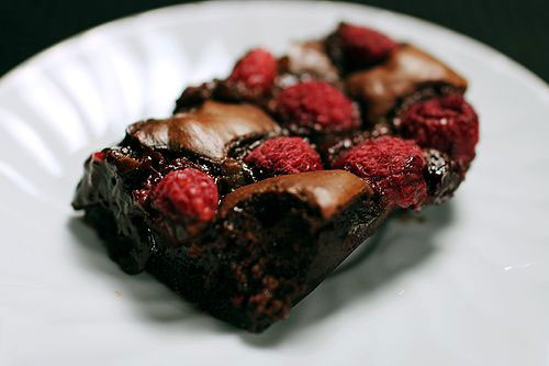 50+ Best Recipes for Fresh Raspberries - Fresh Raspberry Brownies