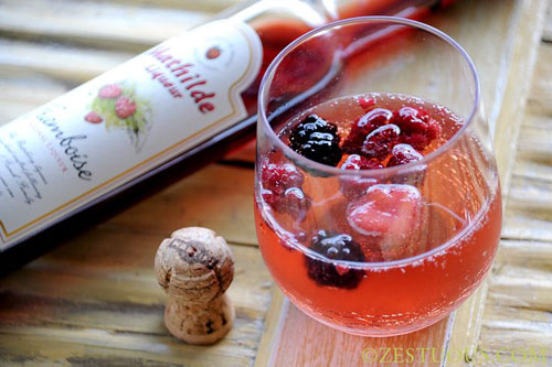 50+ Best Recipes for Fresh Raspberries - Raspberry Sangria