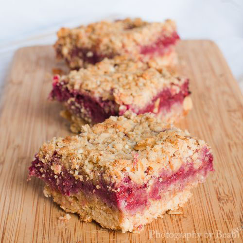 50+ Best Recipes for Fresh Raspberries - Raspberry Squares