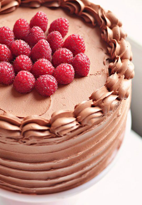 50+ Best Recipes for Fresh Raspberries - Red Velvet Raspberry Cake