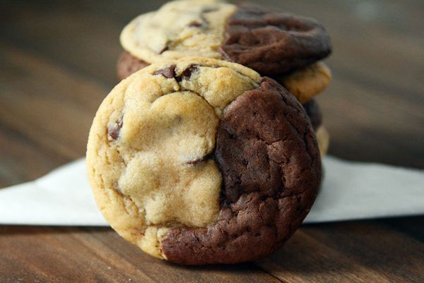 50+ Best Cookie Recipes - Brookies (Brownie+Cookie)