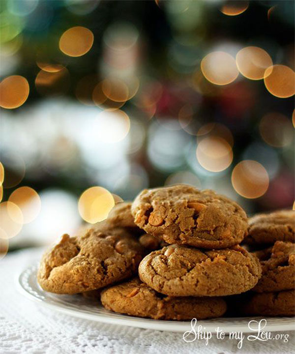 50+ Best Cookie Recipes - Butterscotch Gingerbread Cookies