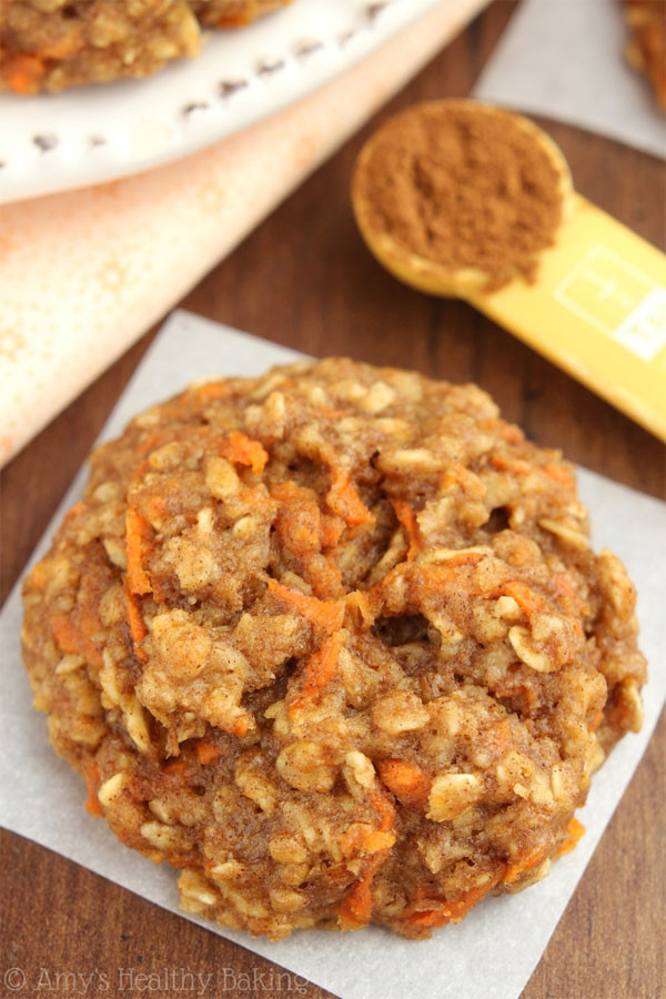 50+ Best Cookie Recipes - Carrot Cake Oatmeal Cookies