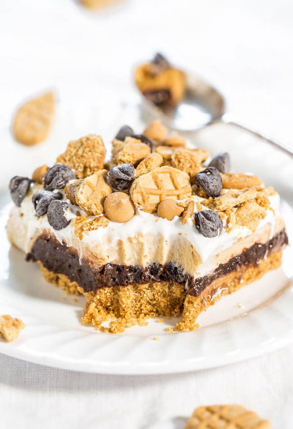 Taste Of Home Chocolate Peanut Butter Crunch Bars