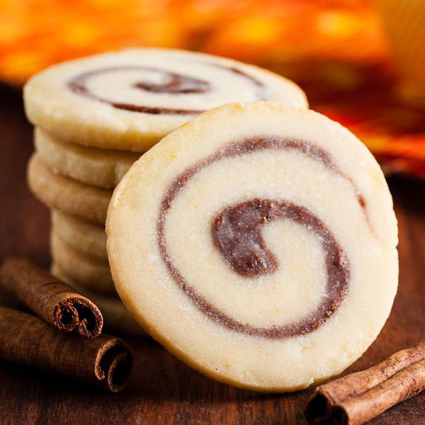 50+ Best Cookie Recipes - Cinnamon Bun Cookies