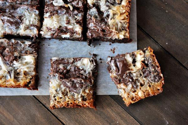 50+ Best Squares and Bars Recipes - Death by Chocolate 7 Layer Cookie Bars