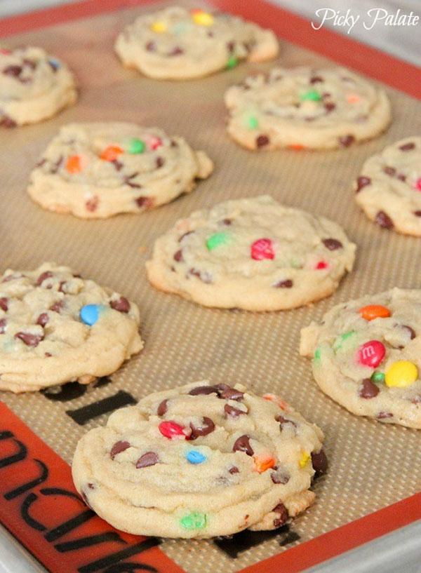 50+ Best Cookie Recipes - Perfect M & M Cookies