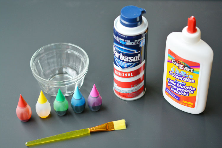 Puffy Paint Ingredients