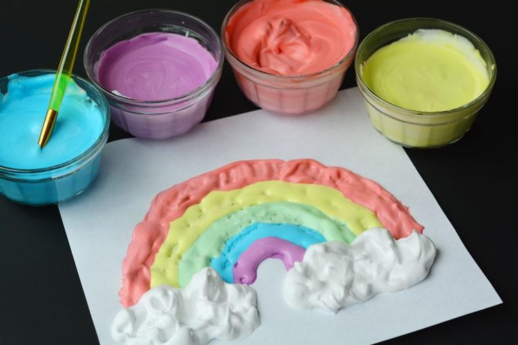 Как сделать в домашних условиях краски для эбру