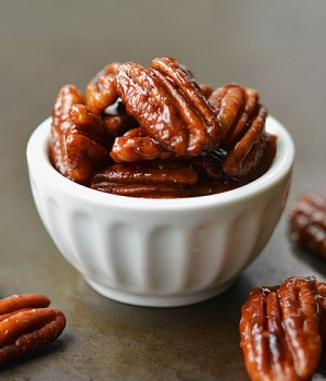 Easiest Candied Pecans