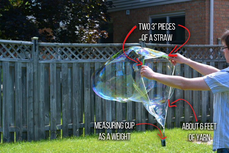 how to make big bubbles