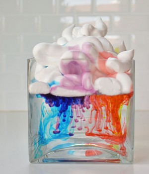 Shaving Cream Rain Clouds
