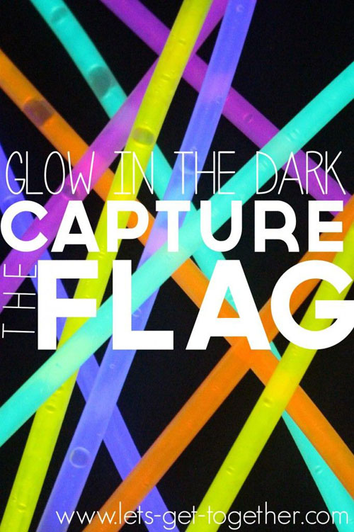 50+ Glow Stick Ideas - Glow In The Dark Capture The Flag