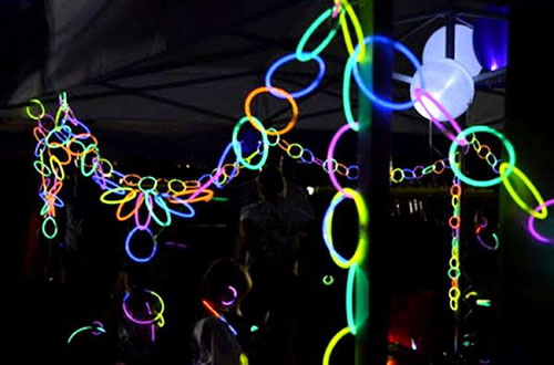 50+ Glow Stick Ideas - Glow Necklace Decorations