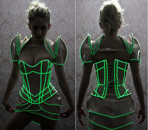 50+ Glow Stick Ideas - Glow Stick Party Dress