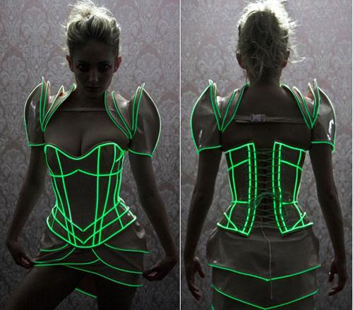 50+ Glow Stick Ideas - Glow Stick Party Dress