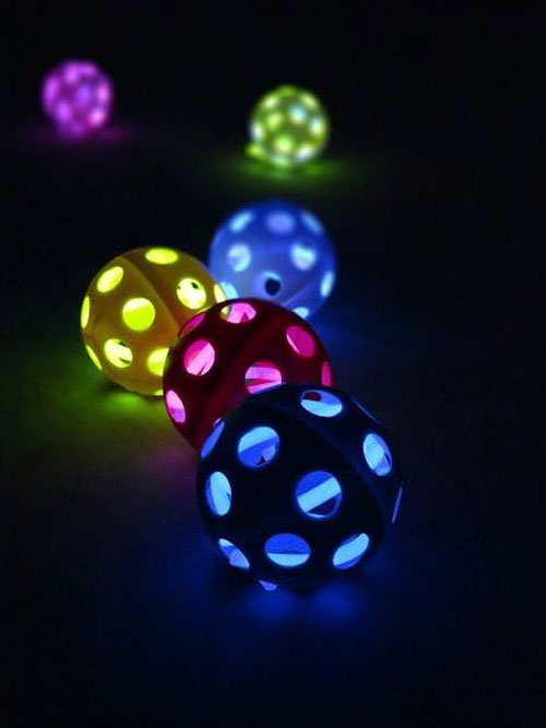 50+ Glow Stick Ideas - Glow Stick Wiffle Balls