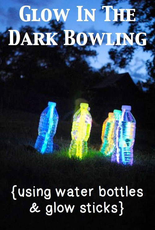 50+ Glow Stick Ideas - Glow in the Dark Bowling