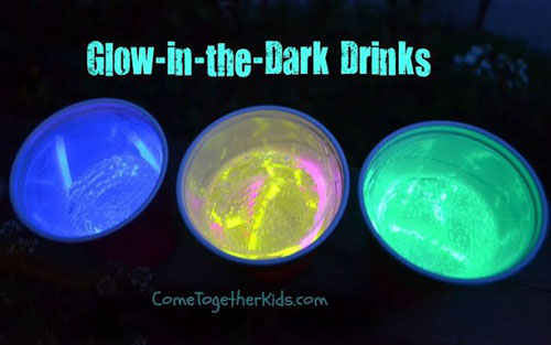 50+ Glow Stick Ideas - Glow in the Dark Drinks