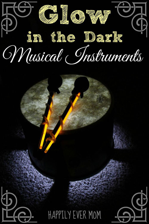 50+ Glow Stick Ideas - Glow in the Dark Musical Instruments