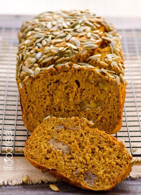 50+ Homemade Starbucks Recipes - Moist Skinny Pumpkin Bread