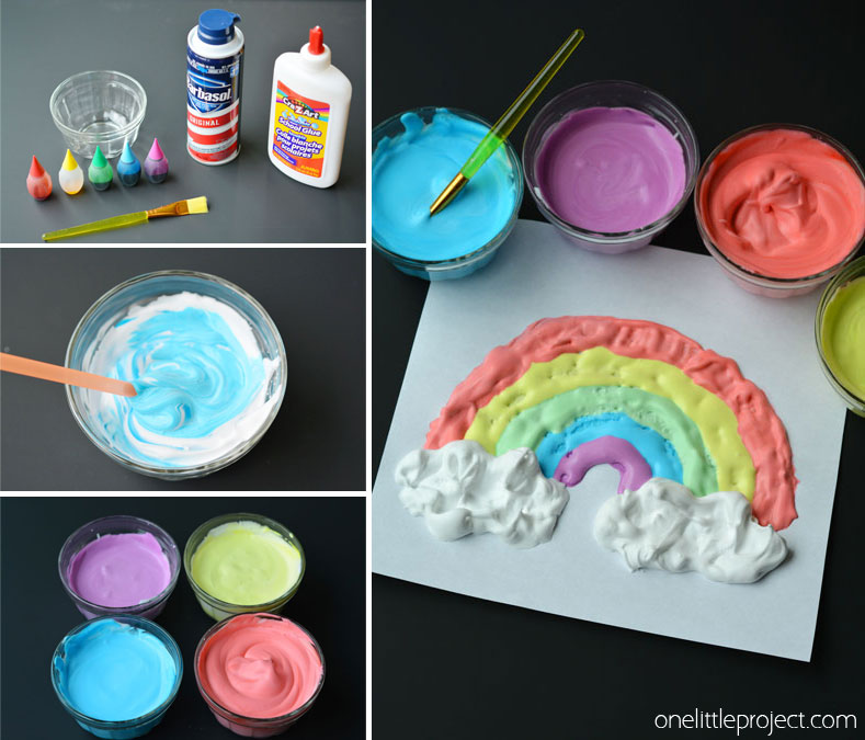 How To Make Puffy Paint Recipe