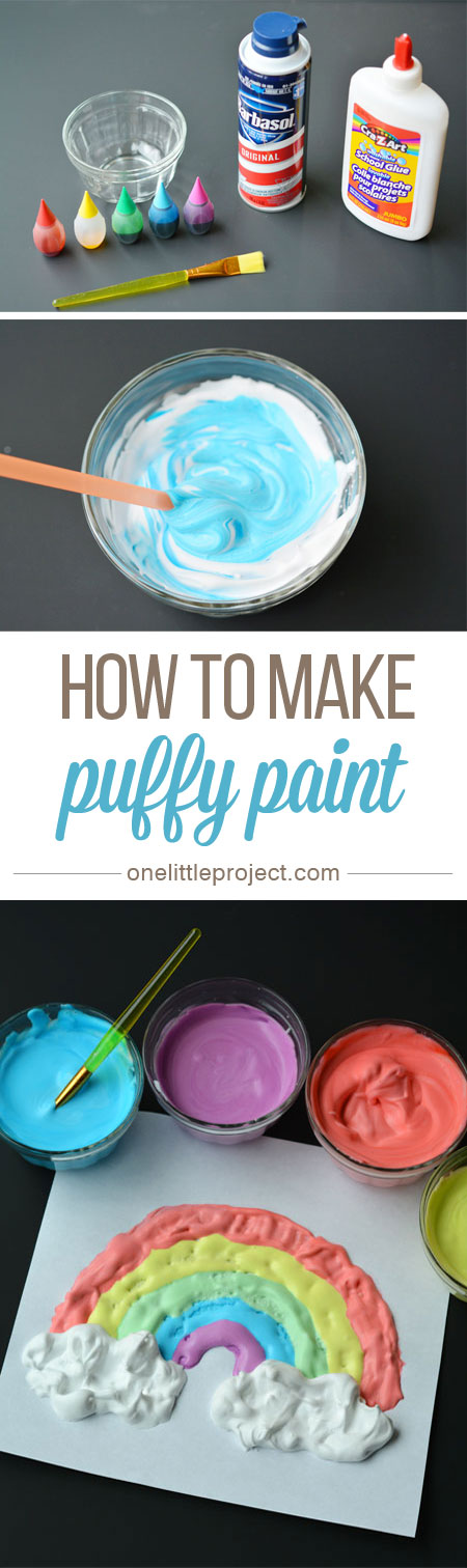 puffy paint craft ideas how to make paint do it yourself 5297