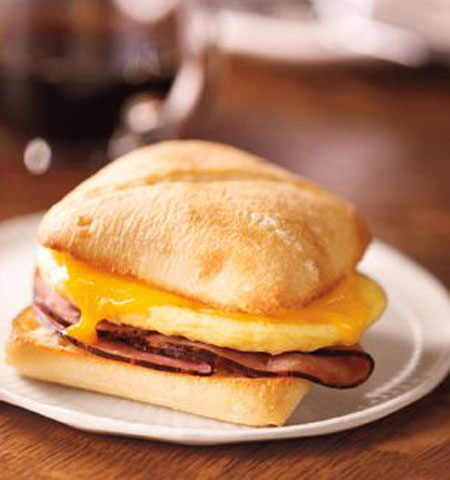 50+ Homemade Starbucks Recipes - Starbucks Breakfast Sandwich