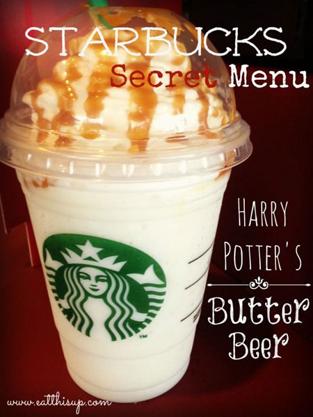 50+ Homemade Starbucks Recipes - Starbucks ButterBeer