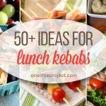 50+ Ideas for Lunch on a Stick