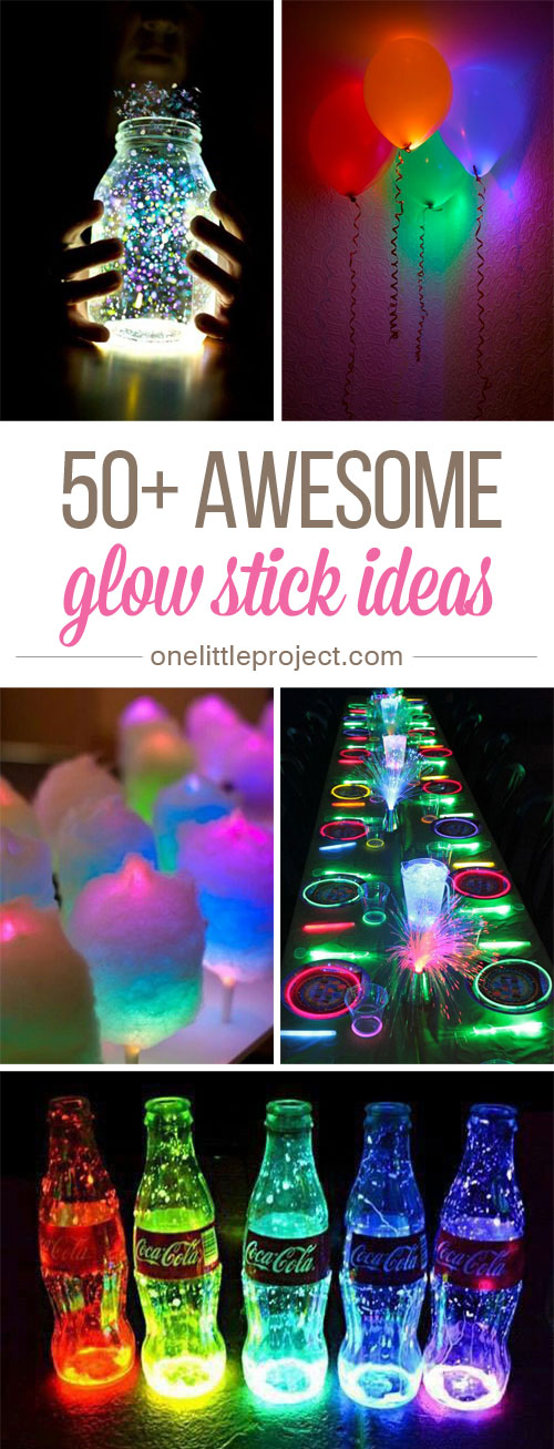 these glow stick ideas are so much fun there are so many amazing things you
