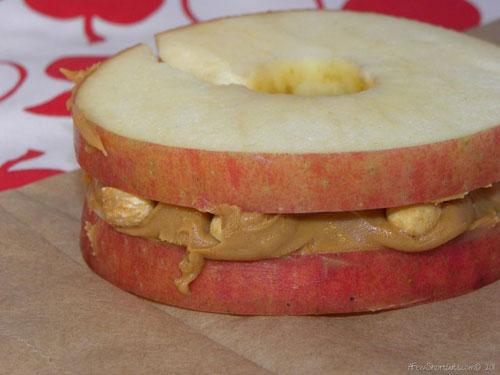 Non-Sandwich Lunch Ideas - Applewiches