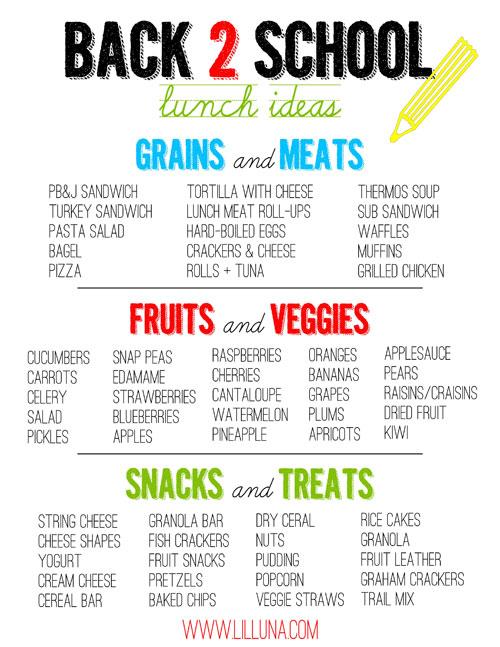 Lunch Box Hacks - Back to School Lunch Ideas