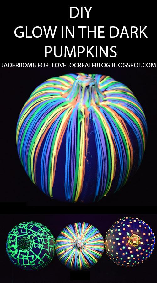 Pumpkin Carving Hacks - DIY Glow in the Dark Pumpkins
