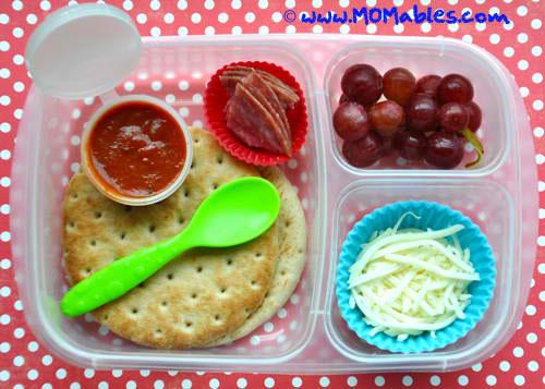 Lunch Box Hacks - DIY Pizza Lunch