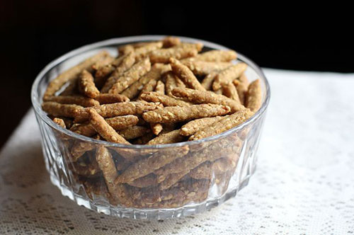30+ MORE Foods You Can Make Yourself - DIY Sesame Sticks