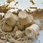 Shaving Cream Foam Sand