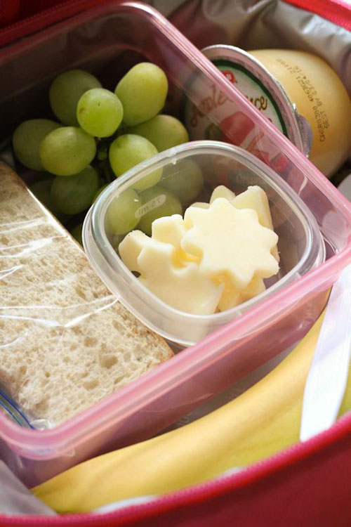 Lunch Box Hacks - Fruits & Cheese Lunchbox