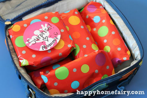 Lunch Box Hacks - Gift Wrapping Lunchbox