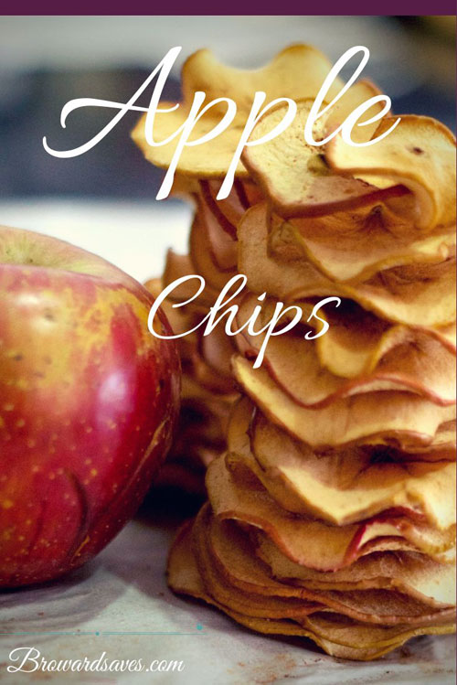 30+ MORE Foods You Can Make Yourself - Homemade Apple Chips