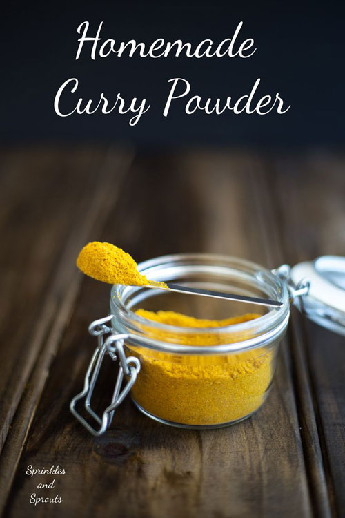 30+ Foods You Can Make Yourself - Homemade Curry Powder