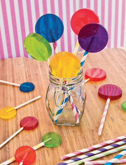 30+ MORE Foods You Can Make Yourself - Homemade Lollipops