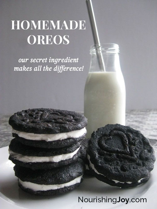 30+ MORE Foods You Can Make Yourself - Homemade Oreos